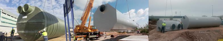 AQUA AMBIENT IBÉRICA suministra equipos para las aguas pluviales y las aguas hidrocarburadas en el centro logístico de la multinacional estadounidense AMAZON