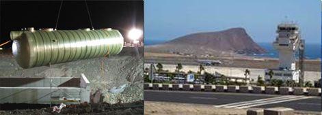 AQUA AMBIENT IBÉRICA suministra líneas de pretratamiento para la Adecuación de la Plataforma del Aeropuerto Tenerife Sur