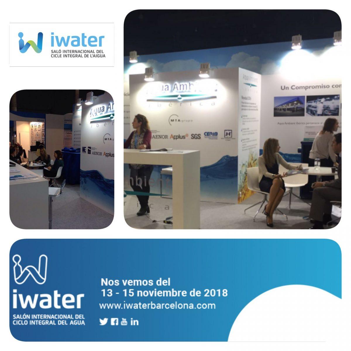 Próxima participación iwater   (del 13 al 15 de noviembre)