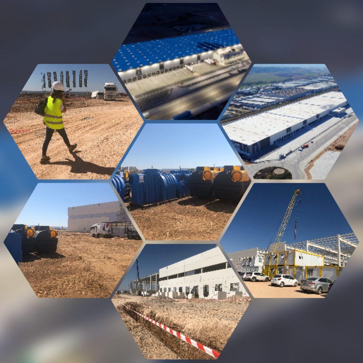 Aqua Ambient Ibérica diseña y suministra Separadores de Hidrocarburos en la Plataforma Logística de Marchamalo (Guadalajara)
