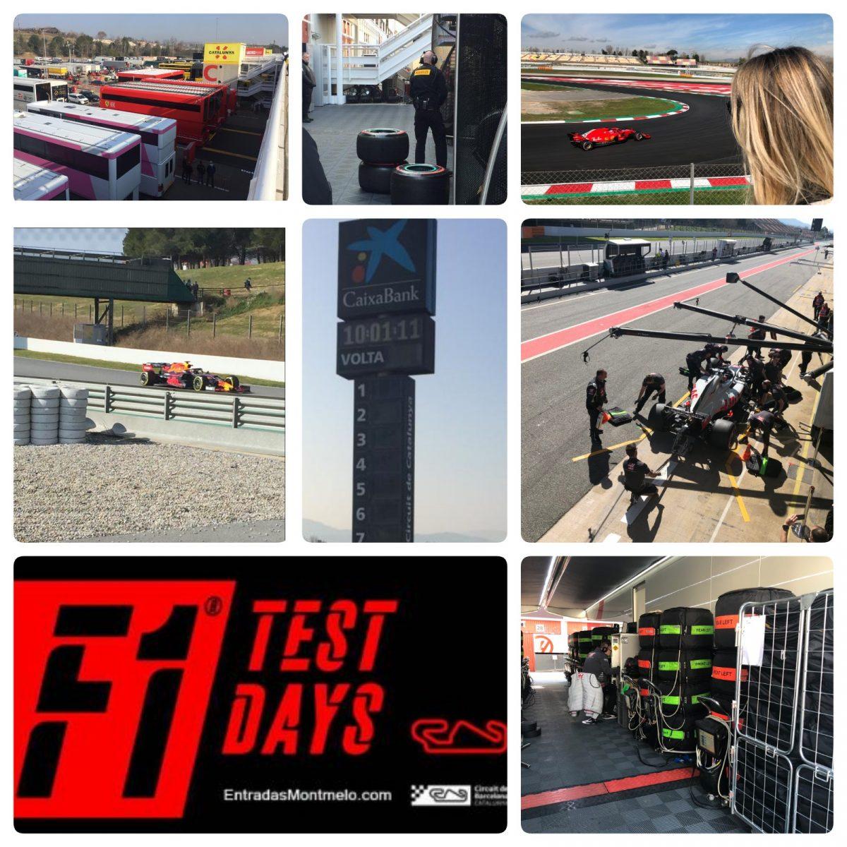 AQUA AMBIENT VISITA F1 TEST DAYS