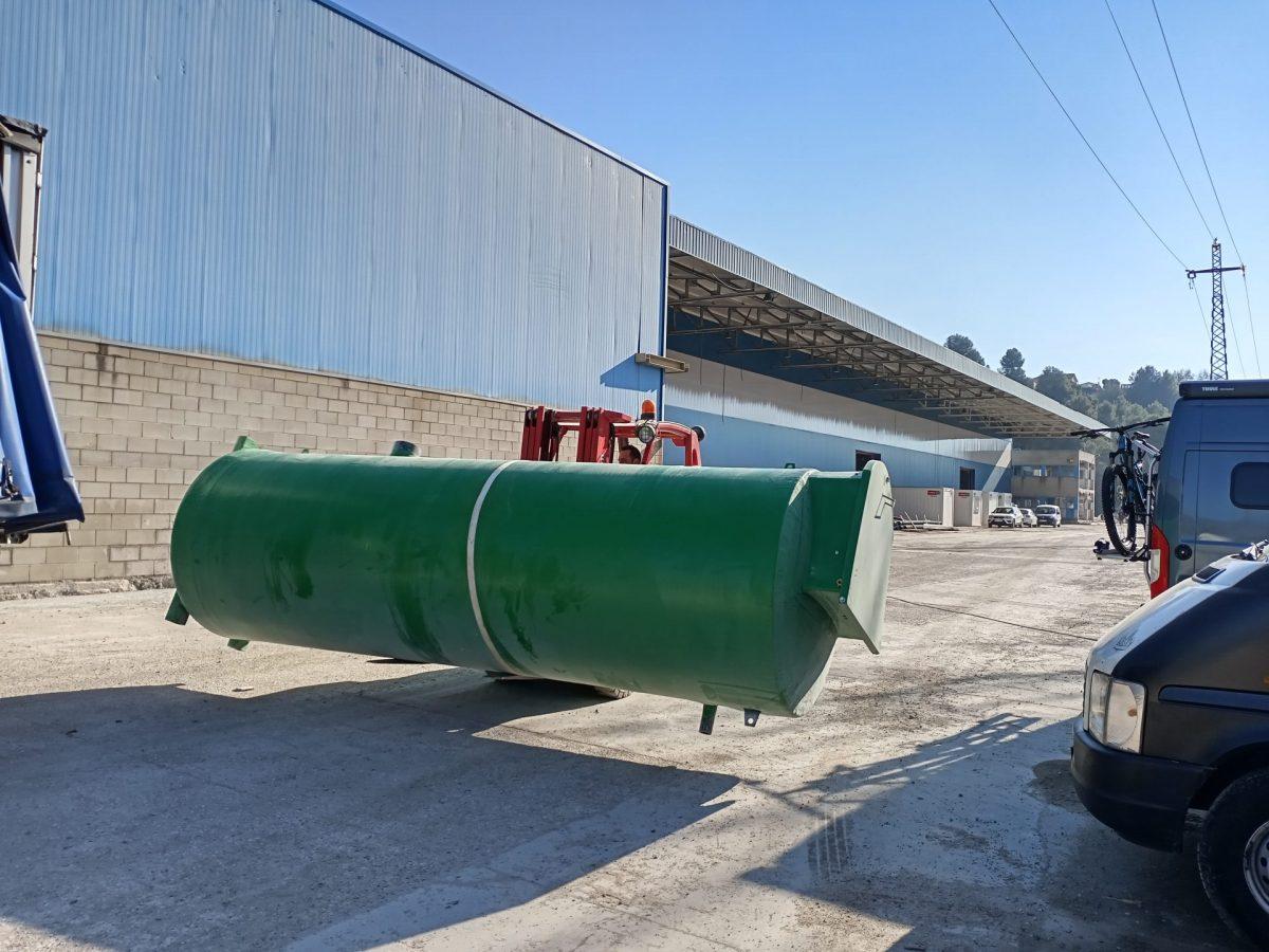 Depuradora Aguas Residuales Nave Industrial
