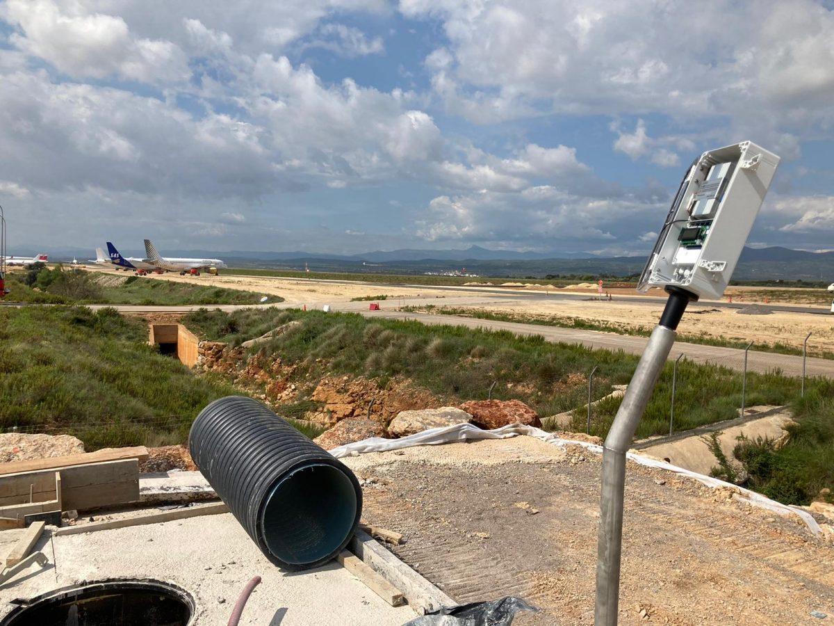Monitorización del nivel de hidrocarburos en Aeropuerto Castellón