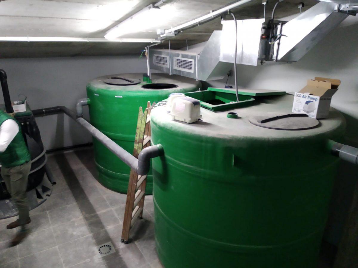AQUA AMBIENT implanta una Estación de Reciclaje de Aguas Grises en Viviendas Urbanas